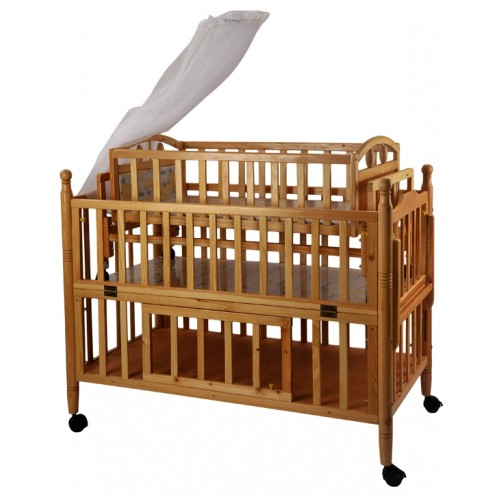 cradle with cot