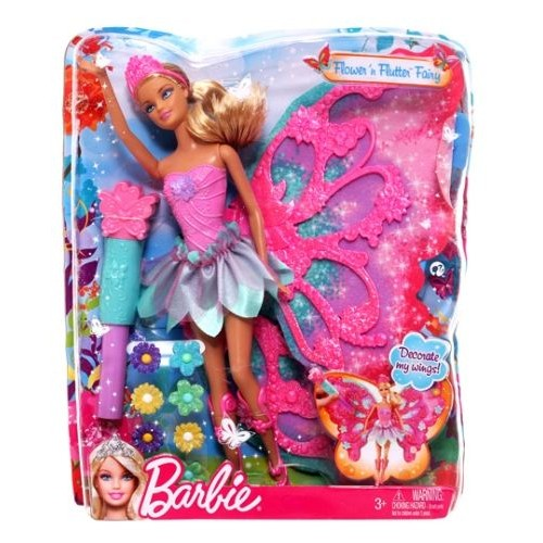 Barbie - Flower 'n Flutter Fairy Barbie Doll